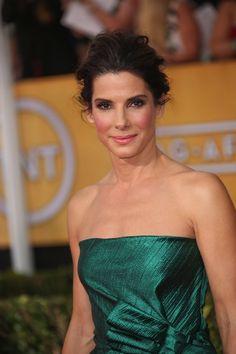 How to Create Sandra Bullock's Messy-Romantic Updo