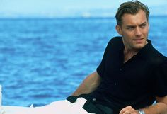 Jude Law circa 'The Talented Mr Ripley' ie: the rise before the fall (of his reputation and hairline)