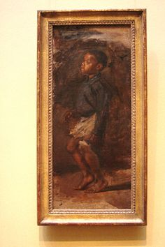 """Study for """"Negro Boy Dancing"""": The Boy by Thomas Eakins.  National Art Gallery, West.  07/2011."""