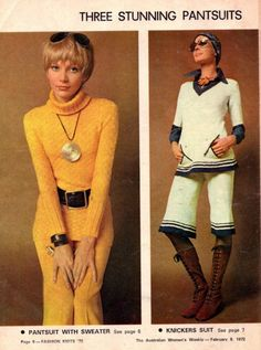Vintage knitting & crochet  patterns 1970s by allthepreciousthings