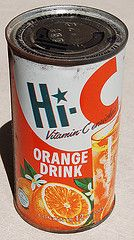 """Giant sans-serif, beautiful hand painted fruit, decorative dot on the """"i"""" = Post-war industrial boom My Childhood Memories, Childhood Toys, Great Memories, Vintage Advertisements, Vintage Ads, Vintage Food, Vintage Items, Before I Forget, Orange Drinks"""