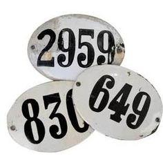 Enamel numbers