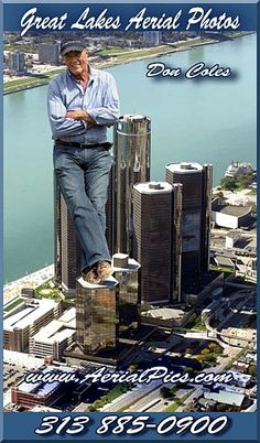 Allow me to do for you what I do best. 313 Don Coles, Photographer ~ Pilot Detroit Skyline, Detroit Michigan, Great Lakes, Aerial Photography, Rafting, Pilot, Pilots