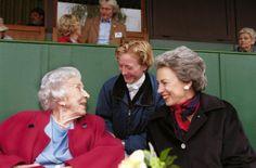 Queen Ingrid, Princess Nathalie of Berleburg and Princess Benedikte? in June 2000