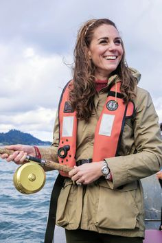"""wills-and-kate: """" """"The Duchess of Cambridge out on a fishing trip with Skidegate youth centre children during the Royal Tour of Canada on September 30, 2016 in Carcross, Canada """" """""""