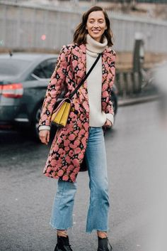 How The Street Style Gang Wear Denim | British Vogue