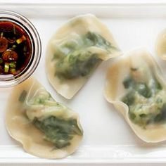 Spinach and Shrimp Wontons. These are delicate, delicious and as packed with protein as they are with flavor.