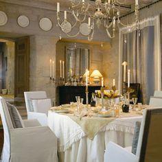 John Saladino dining room/sublime