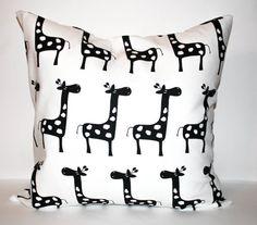 Giraffe Pillow Cover