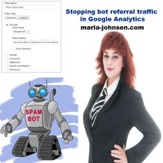 Stopping bot referral traffic in Google Analytics | Million Dollar Blog