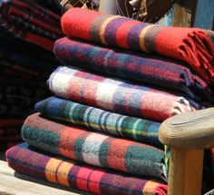 I love a tartan blanket.