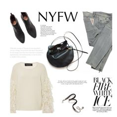 """Pack for NYFW"" by tamo-kipshidze ❤ liked on Polyvore featuring Tabula Rasa, Victoria Beckham, Chanel, Sweet Romance and NYFW"
