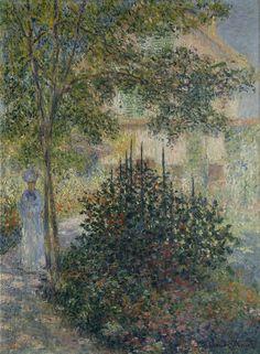 Claude Monet - Camille Monet in the Garden at Argenteuil, 1876
