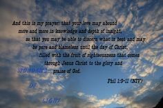 And this is my prayer  Phil 1:9-11  FREE by Wondersoflight on Etsy