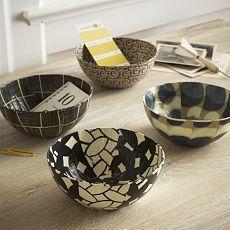 www.south-design.nl - paper marche bowls - handmade - fair trade - Wola Nani