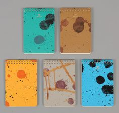 POSTALCO: Notebook A6, Chance Printed Cover, Pin-Graph, Assorted