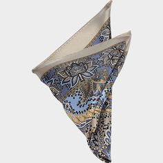 Buy a Joseph Abboud Taupe & Blue Paisley Pocket Square online at Men's Wearhouse. See the latest styles of men's Pocket Squares. FREE Shipping on orders $99+.