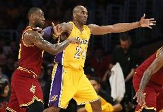 LOS ANGELES (AP) — LeBron James scored 24 points while sharing a court with Kobe Bryant for the final time, leading the Cleveland Cavaliers to a 120-108 victory over the Los Angeles Lakers on Thursday night.Bryant had 26 points on 11-of-16 shooting in an entertaining farewell duel between two of the