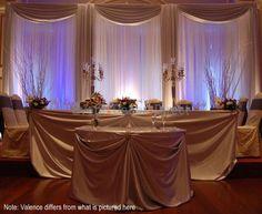 wedding backdrops | Wedding Ideas / Wedding Reception Party Decorations