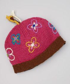 Look at this #zulilyfind! Berry Lily Beanie by Everest Designs #zulilyfinds