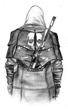 Pirate Coat Assasin Cred, Assassins Creed Black Flag, All Assassin's Creed, Fantasy Warrior, Logan Wolverine, Overwatch Memes, Dark Phoenix, Ghost Rider, Black Sea