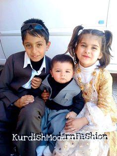 Kurdish clothes for children.