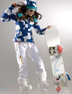 HSW Women Ski Jacket Girl Winter Coat Outdoor Jacket for Women Ladies Winter Jacket Waterproof Snow Fashion, Winter Fashion, Fashion 2015, Mountain Fashion, Prada, Snow Outfit, Ski Wear, Winter Jackets Women, Outdoor Woman