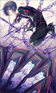 Persona 3 - Makoto Yuuki by Nyeudorin