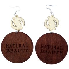 Natural Beauty earrings.  Shop our entire collection of ethnic earrings and natural hair earrings at www.ethnicearring.com