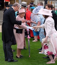 The first garden party of the season is underway at Buckingham Palace marking the start of the Summer Social Season. Her Majesty was joined by the Duke of Edinburgh, the Duke and Duchess of Cambrid…
