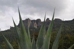 Una bella vista de La Tanda, Mineral del Chico #PuebloMágico, excelente opción para los amantes del #deporte #extremo