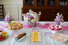 Pink Bridal/Wedding Shower Party Ideas   Photo 1 of 12