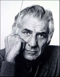 Leonard Bernstein (1918-1990), great American conductor and composer.