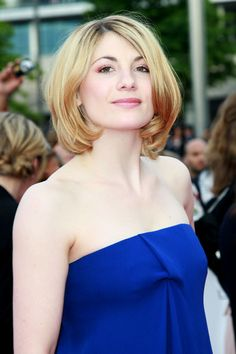 Jodie Whittaker Photos - Jodie Whittaker on the red carpet at the National Movie Awards held at Wembley Arena in London. - Red Carpet at the National Movie Awards in London Jodie Whittaker Hot, Jodi Whittaker, 13th Doctor, Eleventh Doctor, Rory Williams, Karen Gillan, Female Doctor, Rose Tyler, Le Jolie