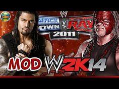 WWE Roman Reigns vs. Kane [SvR 2011] MOD 2K14 #PS2