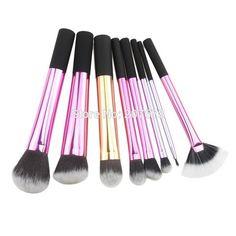 8 Powder Brushes Kit-makeupbyyo