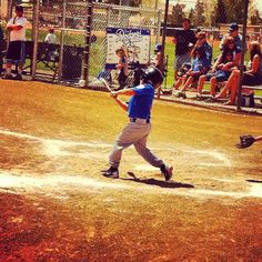 My nephew the baseball star :)