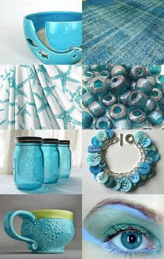 Teal we meet again by Meredith on Etsy--Pinned with TreasuryPin.com