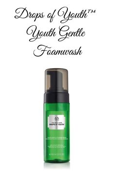 Buy Drops Of Youth Youth Gentle Foamwash - Face, At Enriched with plant stem cells, our instantly foaming face wash upon rinse-off leaves skin fresh and replenished. The youth-enhancing formula thoroughly cleanses the skin without drying, le Plant Stem, Stem Cells, Face Wash, Cleanses, Your Skin, Youth, Cosmetics, Vegan, Fresh