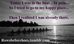 A painful yet beautiful place... #crew #rowing