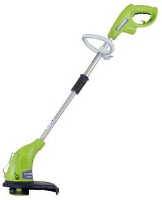 GreenWorks 13 in. Electric String Trimmer and Edger - The Greenworks 13 in. Electric String Trimmer and Edger is a versatile tool for tidying up your lawn. This corded string trimmer features a motor,. Lawn Equipment, Outdoor Power Equipment, Best Lawn Edger, Garden Edger, Grass Cutter, Riding Lawn Mowers, Best Commercials, Schneider, Gardens