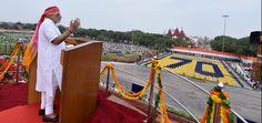 प्रधानमंत्री द्वारा 70वें स्वतंत्रता दिवस पर लाल किले के प्राचीर से राष्ट्र को…