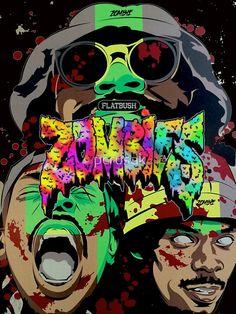 100 Best Flatbush Zombies Images Flatbush Zombies Brooklyn Hiphop