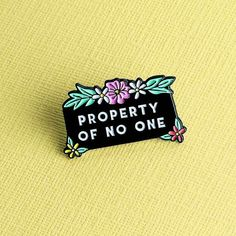 Soft Enamel Pin, measuring approx 28mm