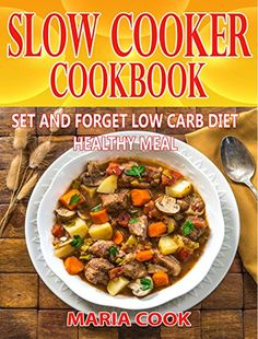 """SLOW COOKER COOKBOOK: The Ultimate """"SET AND FORGET""""Slow Cooker Recipes That are SO Good!!!!! and you can't stop cooking., http://www.amazon.com/gp/product/B071NFK584/ref=cm_sw_r_pi_eb_A8m8zb84TA7R0"""
