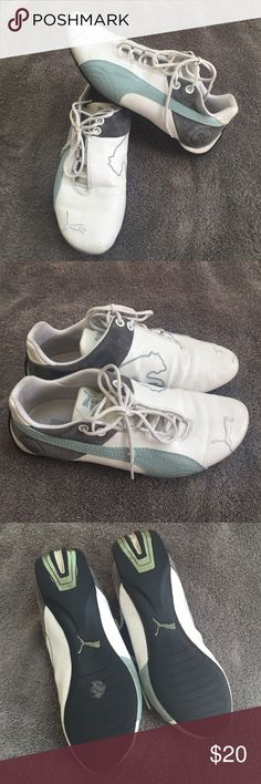 Puma shoes Size 5.5 women's puma. Have some ware but still in great conditions. Puma Shoes Sneakers