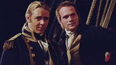 Russell Crowe and Paul Bettany - Master and Commander: The Far Side of the World Patrick O'brian, Master And Commander, Academy Award Winners, Academy Awards, Walt Disney Co, Paul Bettany, Happy Nurses Week, Russell Crowe, O Brian