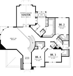 First Floor Plan Image Of Sedgwick House Plan Awesome