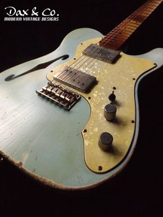 From the Dax&Co. Custom Shop, Fender Thinline Telecaster, Relic Service