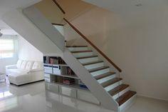HDB Maisonette - HDB Executive Apartment - Living Room. Design by Kitzig Design Studio Pte Ltd